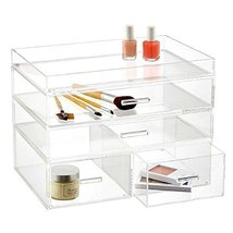 OnDisplay 4 Tier London Acrylic Cosmetic/Makeup Organizer, Clear - $67.92