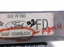 1984..84 FORD TEMPO/TOPAZ   AUTO ENGINE CONTROL MODULE/COMPUTER..ECU..EC... - $23.76