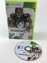 Madden NFL 12 Xbox 360 EA Sports Football Video Game Cleveland Browns - $8.86