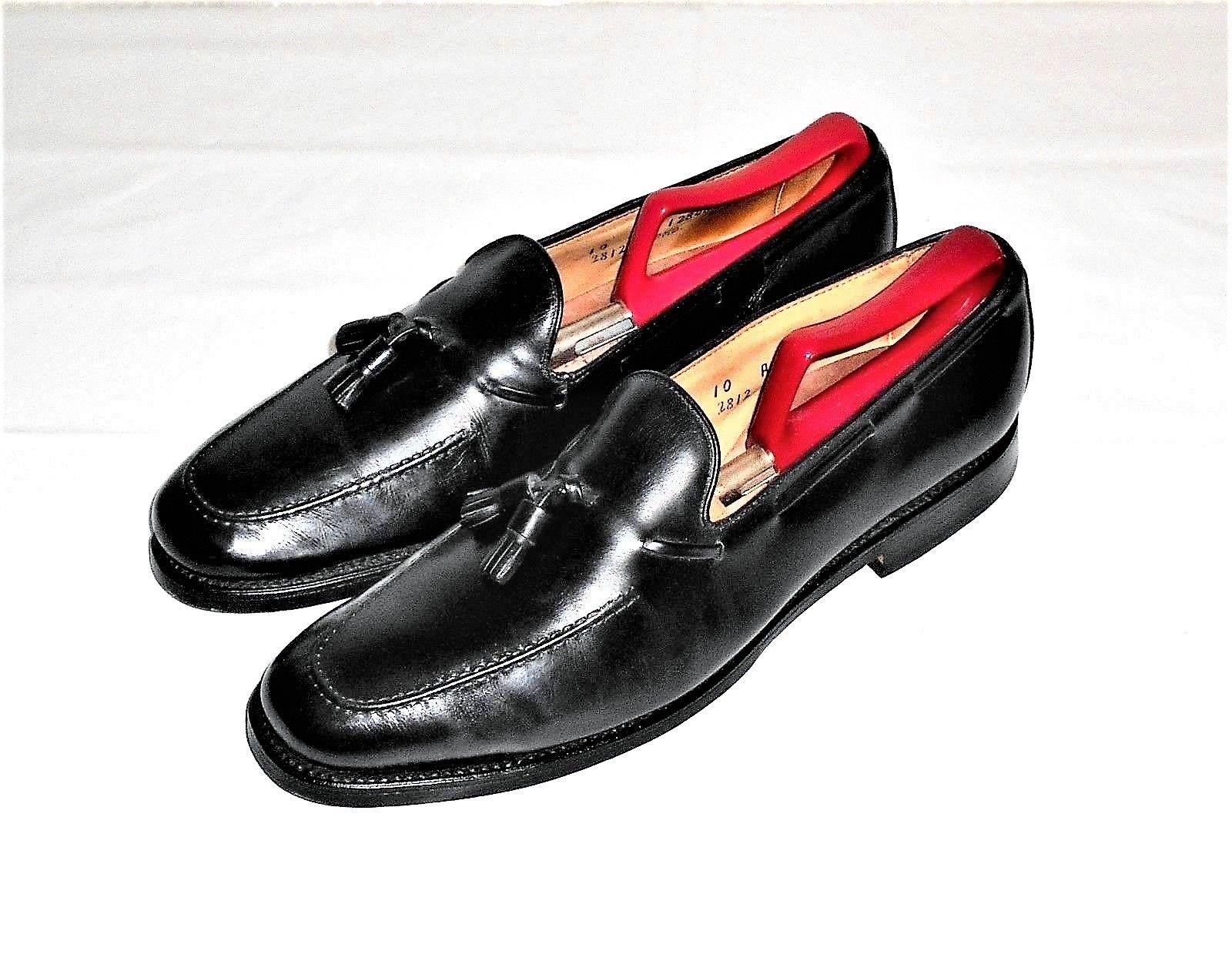 e69cdbc62f6 S l1600. S l1600. Allen Edmonds Cavalier Black Leather Tassel Loafer Slip On  ...