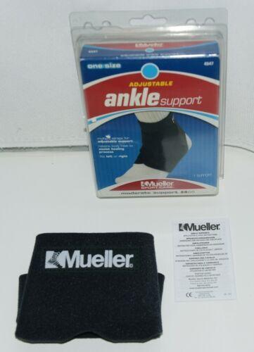 Mueller 4547 Adjustable Ankle Support One Size Color Black