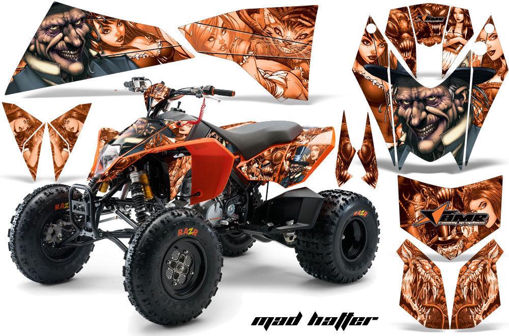 ATV Decal Graphics Kit Quad Wrap For KTM 450 450XC 525 525XC 2008-2013 HATTER O - $169.95