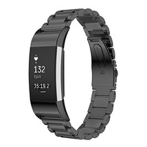 Fitbit Charge 2 Stainless Steel Replacement Accessory Bands Oitom Premiu... - $566,22 MXN