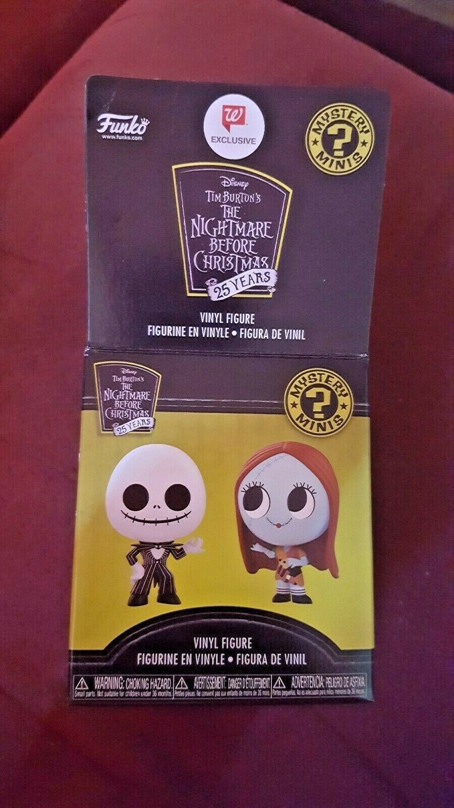 Funko Mystery Mini Nightmare Before Christmas 25th Anniversary  - YOU CHOOSE NBC