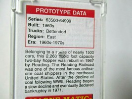 Micro-Trains # 05500221 Reading 33' Twin Bay Hopper, Offset Sides N-Scale image 2