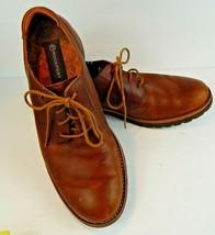 Rockport Men's Ledge Hill British Tan Plain Toe Oxfords Shoes US Size 9 - $42.00