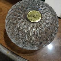 "Avon crystal ""candy dish"" - $5.00"