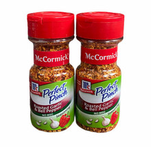 2 Bottles of McCormick Perfect Pinch Roasted Garlic & Bell Pepper Exp 2022 - $37.62