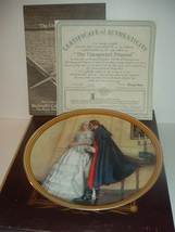 1986 Knowles Norman Rockwell The Unexpected Proposal Plate w/ COA and Box - $19.99