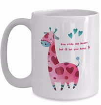 "Romantic Mug Wife Girlfriend Gift You Stole My Heart I""ll Let You Keep G... - $19.50+"