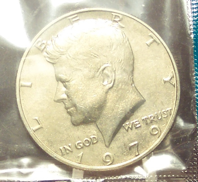 Primary image for 1979 Kennedy Half Dollar BU In the Cello #0425
