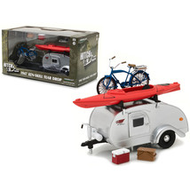1947 Ken Skill Tear Drop Trailer with Accessories for 1/24 Scale Model C... - $40.68