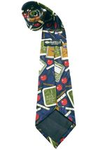 Fratello Men's School Days Teacher Math Ruler Composition Necktie Novelty image 5