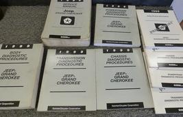1999 Jeep Grand Cherokee Service Repair Shop Manual Set W Diagnostics + Oem - $178.15