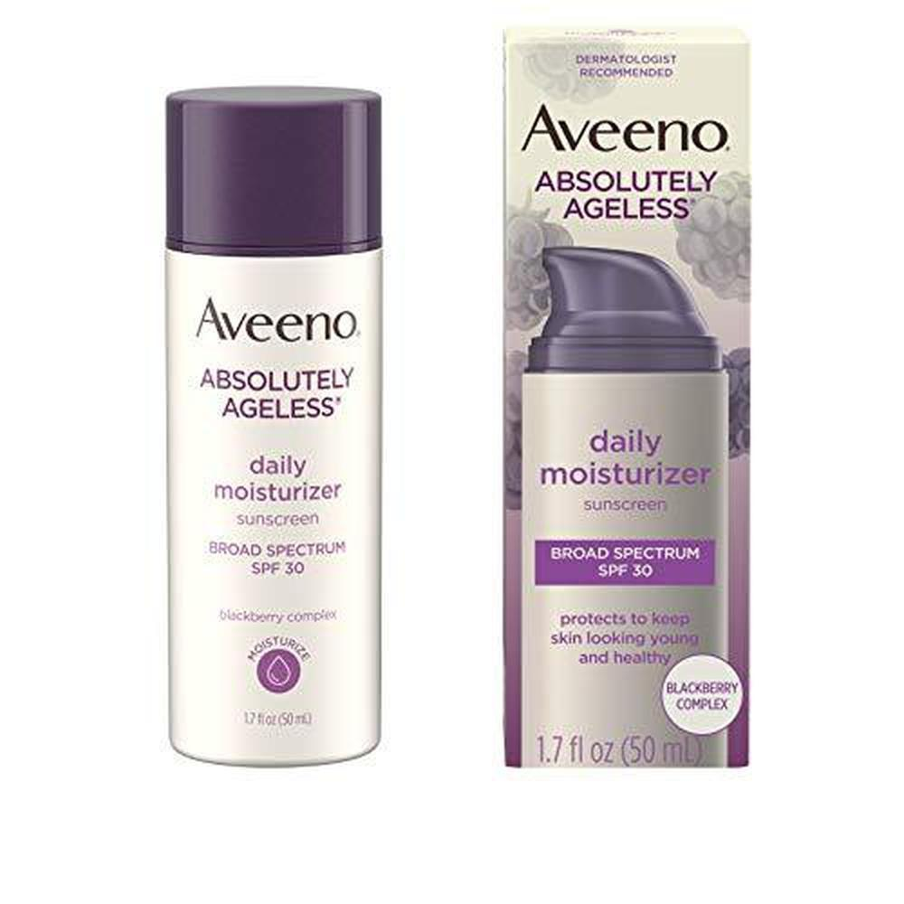 Primary image for Aveeno Absolutely Ageless Anti-Wrinkle Facial Moisturizer with SPF 30 Sunscreen,