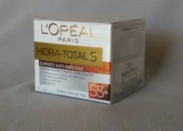 2X L'Oreal Hidra-Total 5 Moisturizer Cream 55+ Anti-Wrinkles  {Anti-Arrugas 55+} - $28.99
