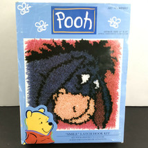 "Pooh Hook And Latch Eeyore ""Smile"" Latch Hook Kit Art NO. WP0012 - $19.98"