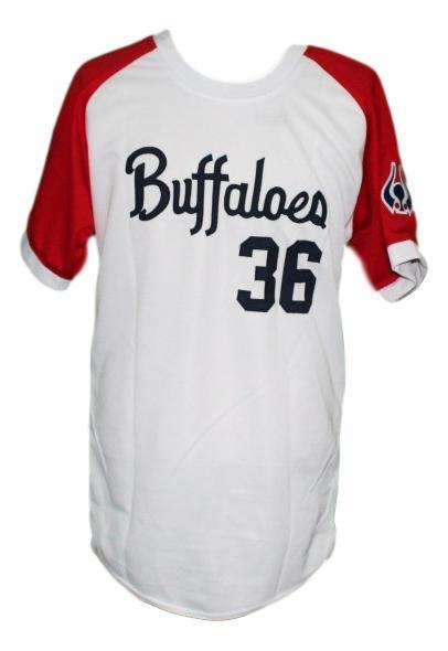 Masato yoshi  36 kintetsu buffaloes japan baseball jersey white   1