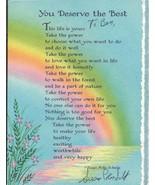 Susan Polis Schultz Signed Vintage Greeting Card - $46.63