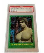 The Incredible Hulk Lou Ferrigno 1979 Topps Marvel Comics Card PSA 8.5 Monster - $1,237.50
