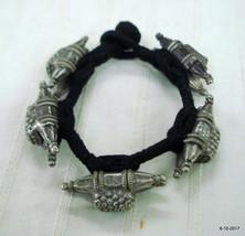Vintage bracelet antique bracelet tribal old silver bracelet bangle cuff - $197.01