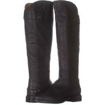 Franco Sarto Henrietta Knee High Boots 203, Grey Leather, 8.5 US / 38.5 EU - $54.71