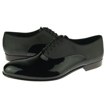 Premium RoundedToe Black Color Magnificiant Leather Fashion Oxford Stylish Shoes - $139.90+