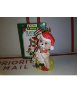 1996 Kwik Fill Teddy the Bear Traditions Christmas Ornament  Ceramic Gas... - $4.46