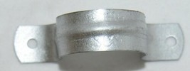 Sioux Chief Two Inch Tube Strap Galvanized Steel 50 Count Per Box image 1