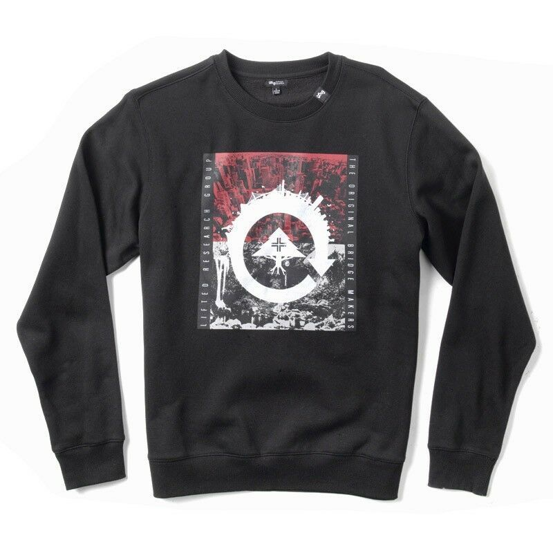 LRG Men's Recycled City Crew Neck Sweatshirt L-R-G Lifted Research Group
