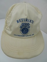 Retiree's Teamster Local 600 Snapback Adult Cap Hat - $12.86