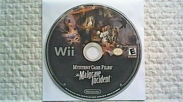 Mystery Case Files: The Malgrave Incident (Nintendo Wii, 2011) - $9.45