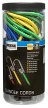 Reese Secure 9527300 24 Piece Standard Bungee Assortment Jar-24 - $19.03