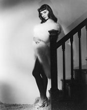 Joan Collins B&W 16X20 Canvas Giclee Hollywood 1950'S - $69.99