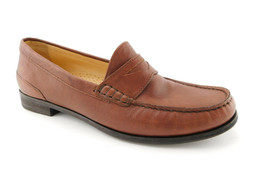 COLE HAAN Size 8.5 Brown Leather Penny Loafer Slip Ons Shoes 8 1/2 N. Air - $55.00