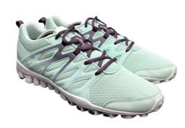 Reebok Running Fusetie Mint Purple RealFlex Shoes BD5059 Womens 11 Fast Ship - $53.90