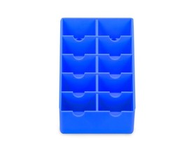 MD Clipper Blade Rack Storage Holds 10 Clipper Blades (Blue) - $19.99