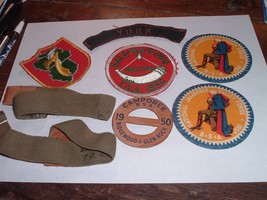 Vintage BSA Boy Scouts patch Lot 1950 Jamboree Glen Rock & York PA / sli... - $50.00
