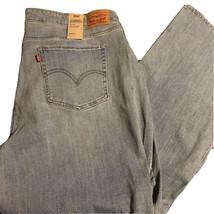 Levis 414 Classic Straight Jeans Size 24W Womens Light Wash Denim - $40.83