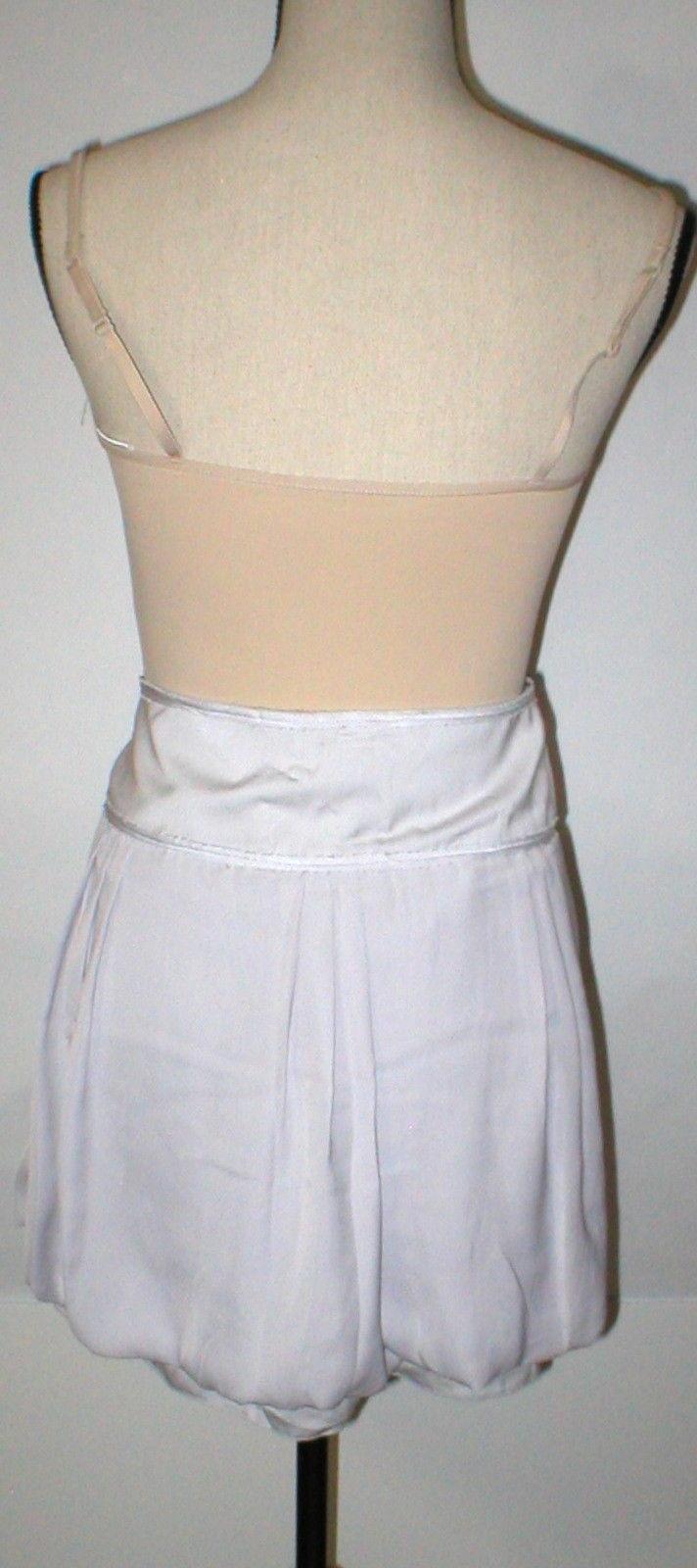 NEW Womens Gap Bubble $50 Skirt NWT 14 Mini Starlight Very light Grayish Purple image 2
