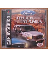 FORD TRUCK MANIA Playstation 1 PS1 VIDEO GAME TESTED COMPLETE - $14.85