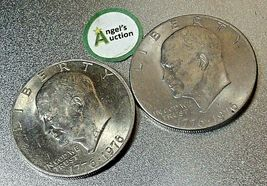 Eisenhower  Dollar 1976 P and 1976 D AA20D-CND8001 image 6