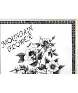 Pre-owned 33 1/3 RPM record from 1984, MOUNTAIN FLOWER (Phil & Gaye John... - $20.00
