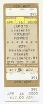 RARE Violent Femmes 4/16/00 Providence RI Concert Ticket Stub! - $2.96