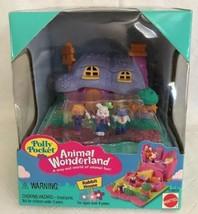 Vintage Polly Pocket Animal Wonderland Rabbit House 1995 NEW & SEALED NIB - $69.29