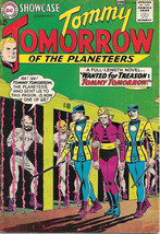 Showcase Comic Book #44 Tommy Tomorrow, DC Comics 1963 FINE - $33.78
