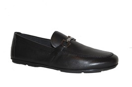 Salvatore Ferragamo Men's Black Leather Italy Shoes Size Ferragamo 12 EE... - $592.87 CAD
