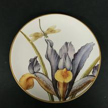 Williams Sonoma  Jardin Des Fleurs Salad Dessert Plate Iris-Dragonfly - $19.00