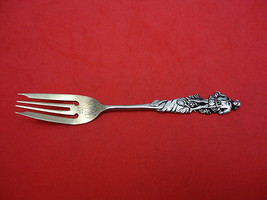 "Nuremburg by Gorham Sterling Silver Salad Fork 5 7/8"" Man w/Bundle of Sticks - $274.55"