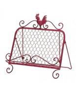 RED ROOSTER COOKBOOK STAND - NEW! - $26.45